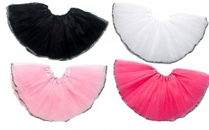 Time is Running Out for our Zebra Trimmed Tutus!